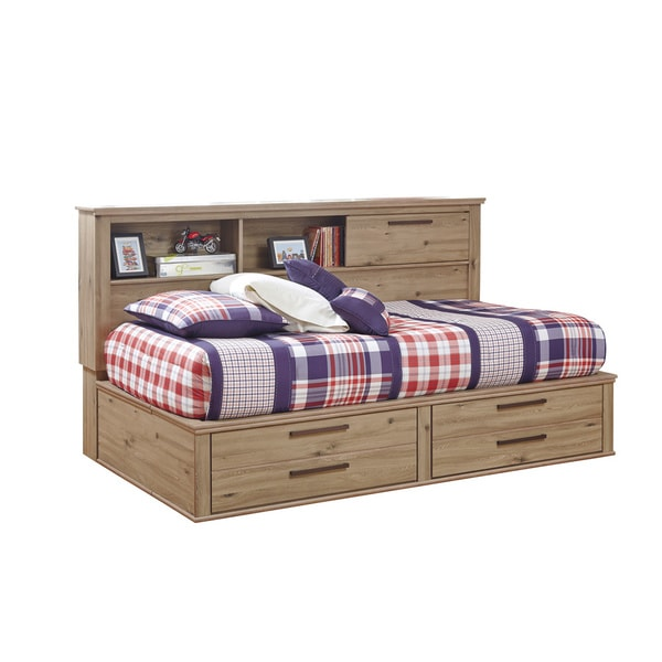 Signature Design by Ashley Dexifield Beige Brown Youth Storage Bed
