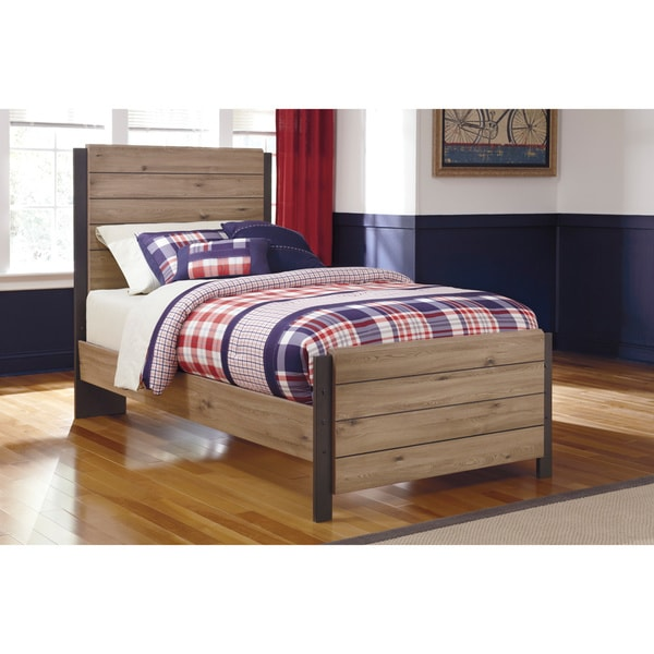 Signature Design By Ashley Dexifield Beige Brown Youth Bed