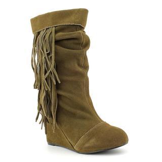 Kelsi Dagger Women's 'Carousel' Regular Suede Boots (Size 6.5 )