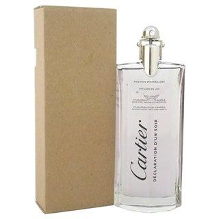 Cartier Declaration D'un Soir Men's 3.3-ounce Eau de Toilette Spray (Tester)