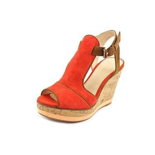Enzo Angiolini Women's 'Gesso' Regular Suede Sandals