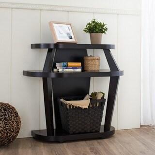 Furniture of America Ballenia Cappuccino Console Table