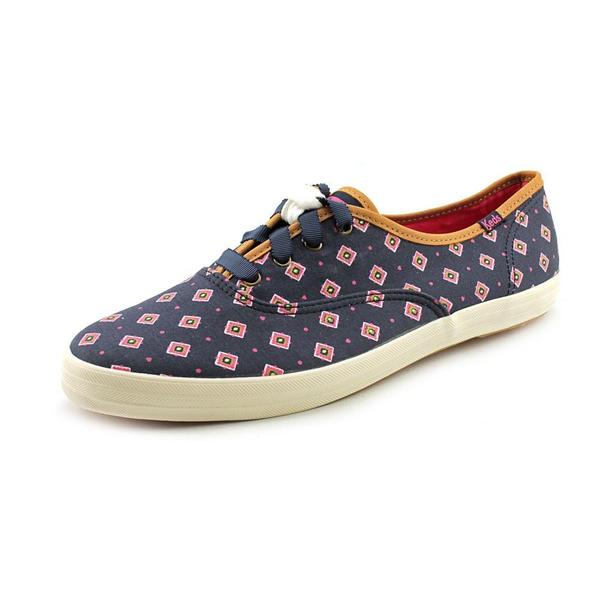Keds Women's 'Ch Tie Print' Canvas Athletic Shoe (Size 11 )