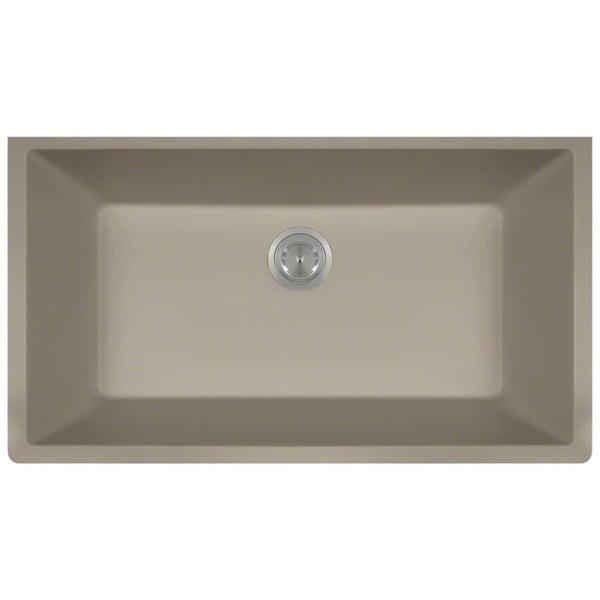 MR Direct TruGranite Single Bowl Kitchen Sink
