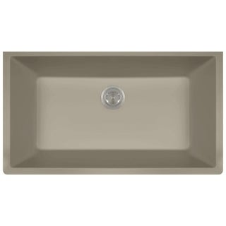MR Direct TruGranite Single Bowl Kitchen Sink