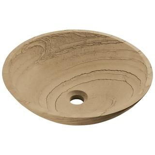 MR Direct Sandstone Vessel Sink