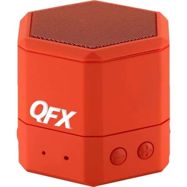 QFX BT-43 Speaker System - Wireless Speaker(s) - Red