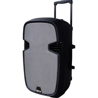 QFX PBX-61121BT Speaker System - Silver