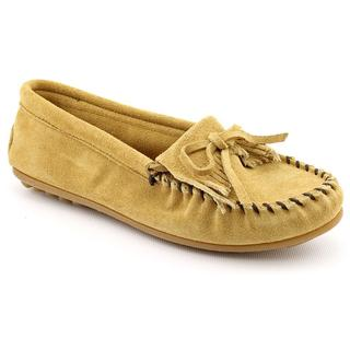 Minnetonka Women's 'Kilty' Regular Suede Casual Shoes (Size 10 )