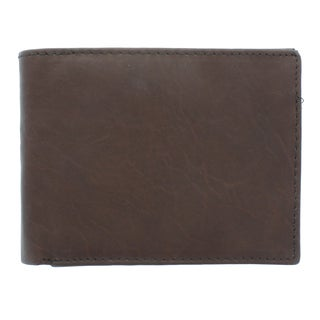 YNY Men's Leather Bi-fold Wallet