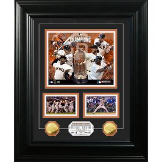 San Francisco Giants 2014 World Series Champions Marquee Gold Coin Photo Mint