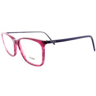 Fendi Womens 946 538 Striped Eyeglasses