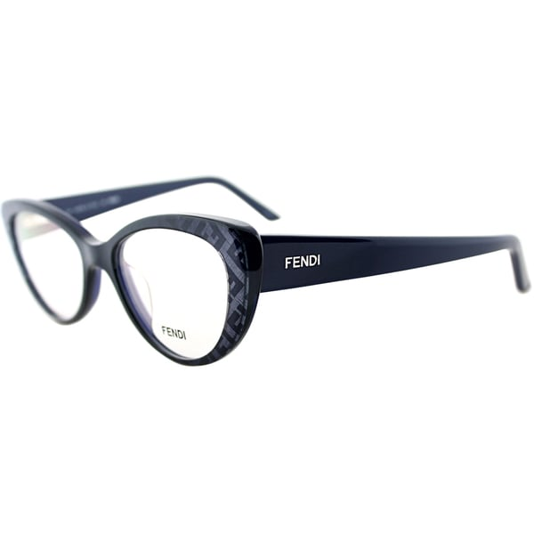 Fendi Womens Blue Plastic Eyeglasses