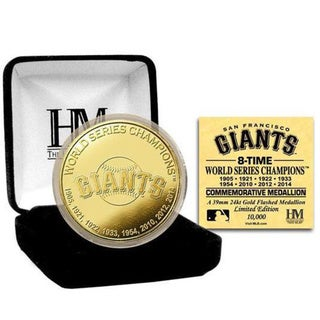 San Francisco Giants 8-time World Series Champions Gold Coin