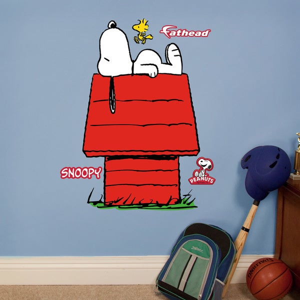 Fathead Jr. Peanuts Snoopy Wall Decals