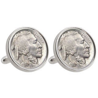 American Coin Treasures UCLA 1919 Sterling Silver Nickel Cuff Links