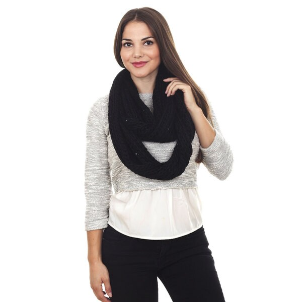 Knitted Infinity Scarf 14291064