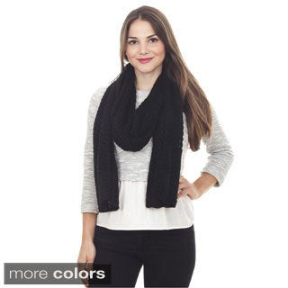 Knitted Design Scarf
