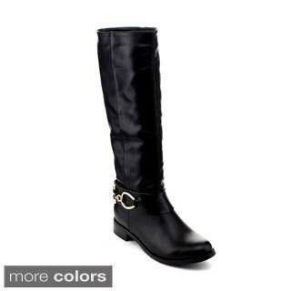 Reneeze Berry-01 Women's Knee-High Riding Boots