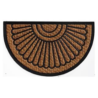 Sun Ponte Coir and Rubber Doormat (1'6 x 2'6)