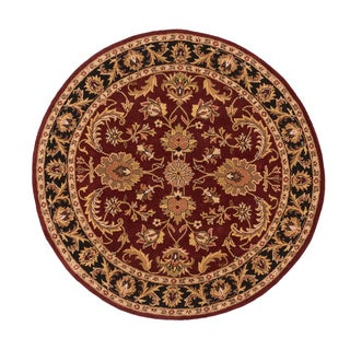 Artistic Weavers Ollie Traditional Border Area Rug (3'6 Round)