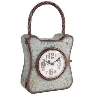 Shelie Distressed Meal Table Clock