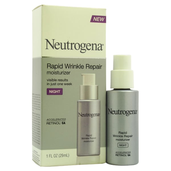 Neutrogena Rapid Wrinkle Repair 1-ounce Night Moisturizer