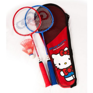Hello Kitty 40th Anniversary Collection Junior Badminton Set