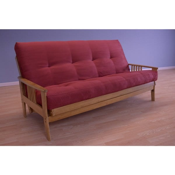 Christopher Knight Home Capri Butternut Suede Mattress Futon