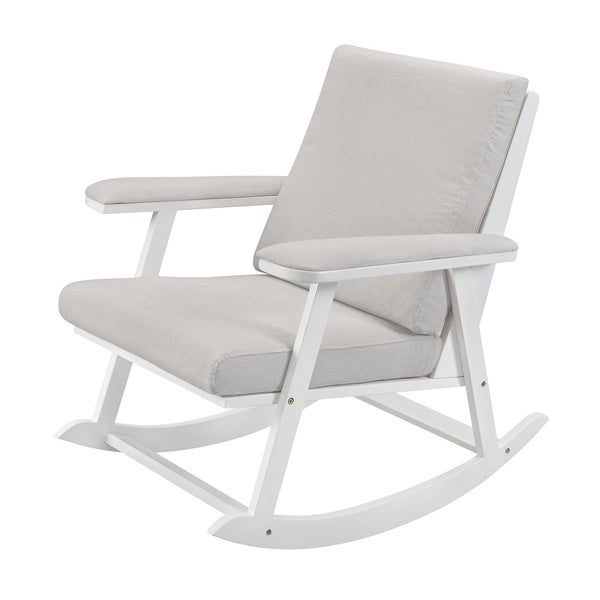 Babyletto Cricket Rocker with Grey Cushions