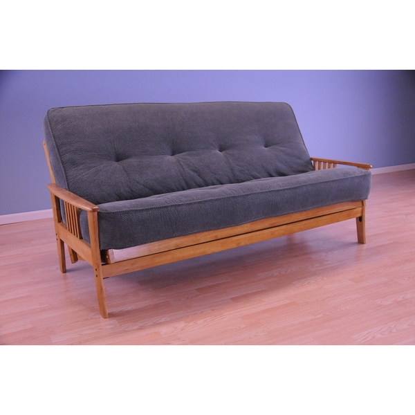 Christopher Knight Home Capri Butternut/ Marmont Mattress Futon