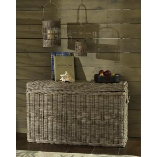 Kubu Grey Console Table Trunk