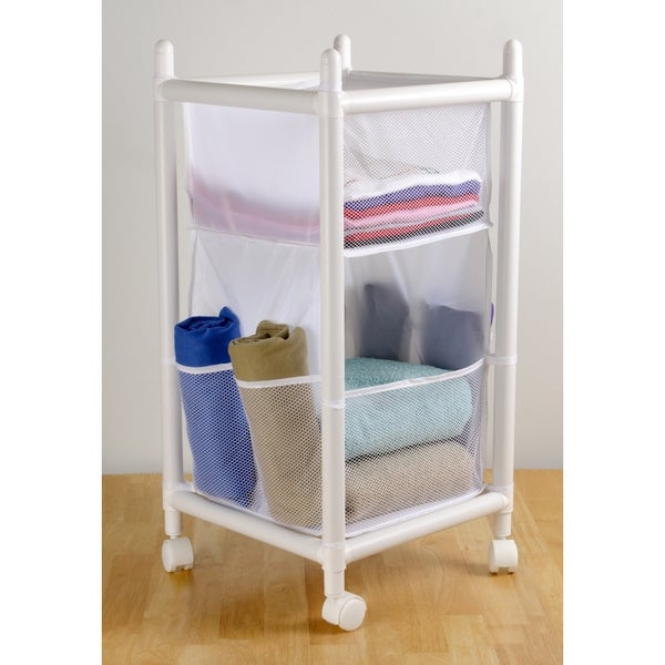 Multi-Function Laundry and Storage Unit