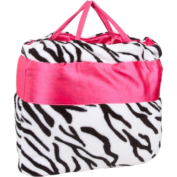 Zebra Print Bed in Bag