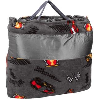 OC Daisy Racecar Napbag Travel Blanket and Pillow Set