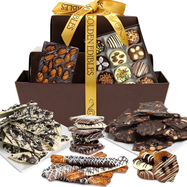 Artisan Edition Select Supremo Belgian Chocolate Gift Basket (42 Pieces)