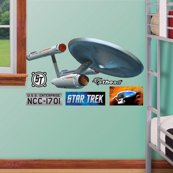 Fathead Jr. Star Trek U.S.S. Enterprise NCC-170 Wall Decals
