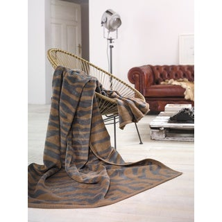 IBENA Messina Animal Jacquard Oversized Throw