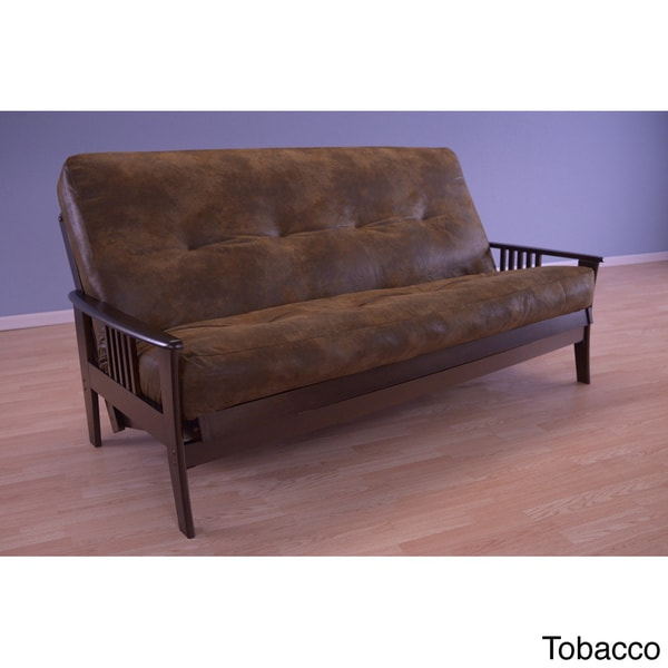 Christopher Knight Home Capri Espresso Palomino Mattress Futon