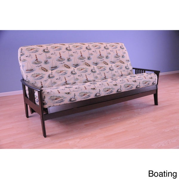 Christopher Knight Home Capri Espresso Futon with Mattress