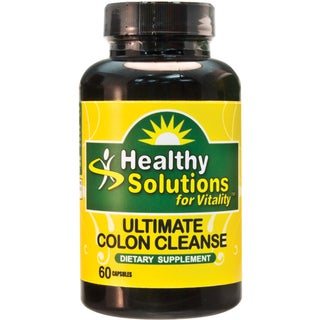 Healthy Solutions Ultimate Colon Cleanse Capsules 60 Count (Pack of 2)