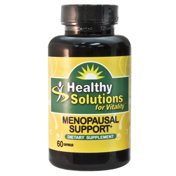 Healthy Solutions Menopausal Support Capsules 60 Count (Pack of 3)