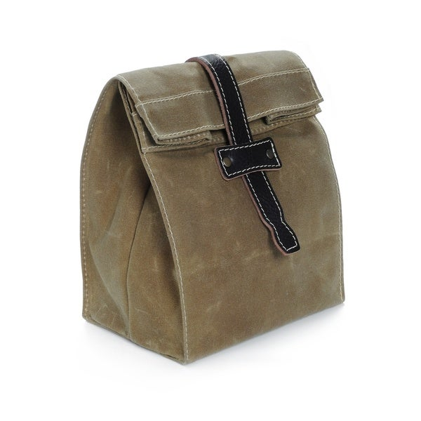 Flote Waxed Canvas Essential Lunch Bag