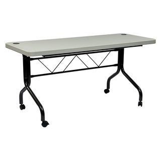 5-foot Multi Purpose Flip Resin Training Table