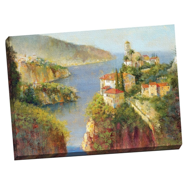 Portfolio Canvas Decor 'Vision of Almafi' Large Printed Canvas Wall Art 14294025