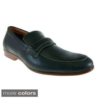 Ferro Aldo Men's Round-toe Dress Loafers