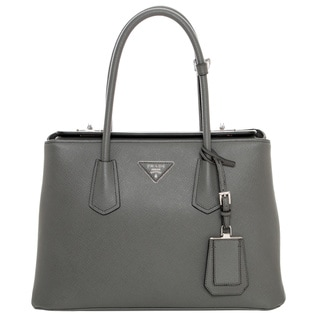 Prada Small Saffiano Cuir Leather Tote