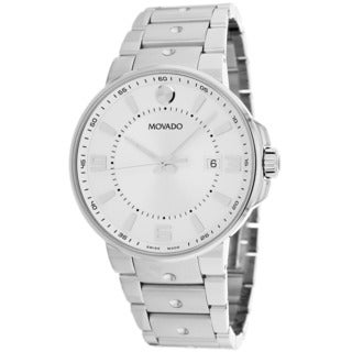 Movado Men's 0606762 Pilot Stainless Steel Watch