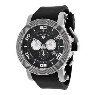 Swiss Legend Men's SL-30465-01-WA Cyclone Black Watch