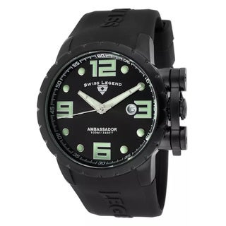 Swiss Legend Men's SL-30021-PHT-SH-WD Ambassador Black Watch